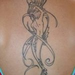 Фото тату контур от 01.09.2018 №031 - Photo tattoo outline - tatufoto.com