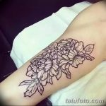 Фото тату контур от 01.09.2018 №032 - Photo tattoo outline - tatufoto.com