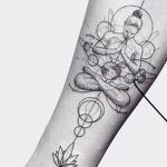Фото тату контур от 01.09.2018 №040 - Photo tattoo outline - tatufoto.com
