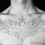 Фото тату контур от 01.09.2018 №041 - Photo tattoo outline - tatufoto.com