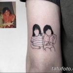 Фото тату контур от 01.09.2018 №060 - Photo tattoo outline - tatufoto.com