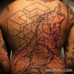 Фото тату контур от 01.09.2018 №069 - Photo tattoo outline - tatufoto.com