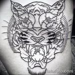 Фото тату контур от 01.09.2018 №087 - Photo tattoo outline - tatufoto.com