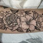 Фото тату контур от 01.09.2018 №093 - Photo tattoo outline - tatufoto.com