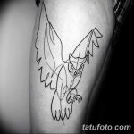Фото тату контур от 01.09.2018 №110 - Photo tattoo outline - tatufoto.com