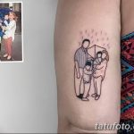 Фото тату контур от 01.09.2018 №126 - Photo tattoo outline - tatufoto.com