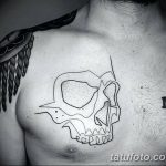 Фото тату контур от 01.09.2018 №144 - Photo tattoo outline - tatufoto.com