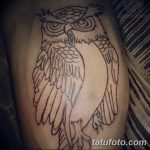 Фото тату контур от 01.09.2018 №146 - Photo tattoo outline - tatufoto.com