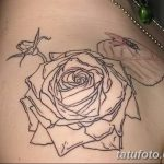 Фото тату контур от 01.09.2018 №171 - Photo tattoo outline - tatufoto.com
