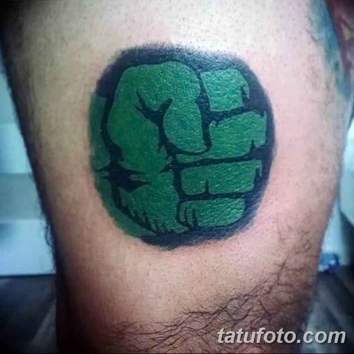 Фото тату кулак от 14.09.2018 №004 - tattoo fist - tatufoto.com