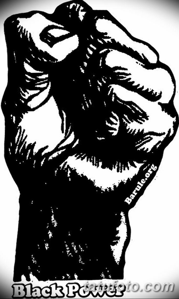 Фото тату кулак от 14.09.2018 №006 - tattoo fist - tatufoto.com