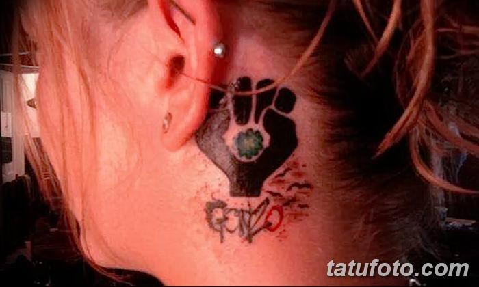 Фото тату кулак от 14.09.2018 №017 - tattoo fist - tatufoto.com