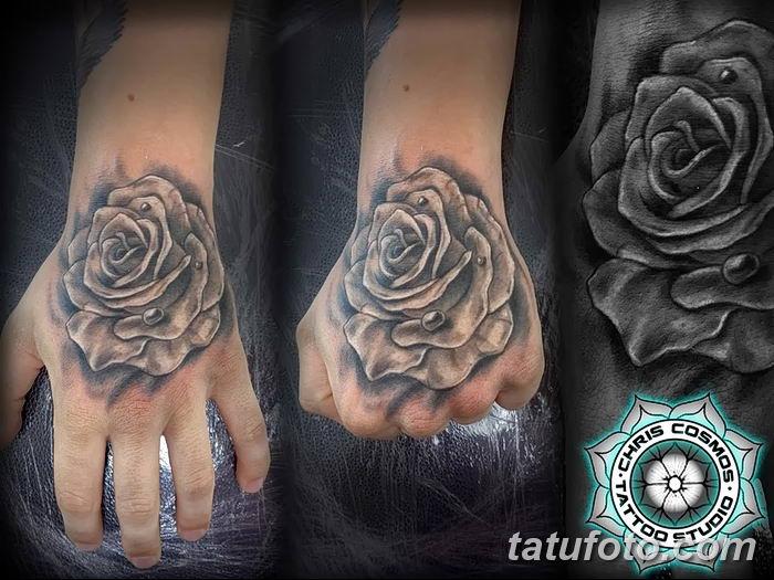 Фото тату кулак от 14.09.2018 №020 - tattoo fist - tatufoto.com