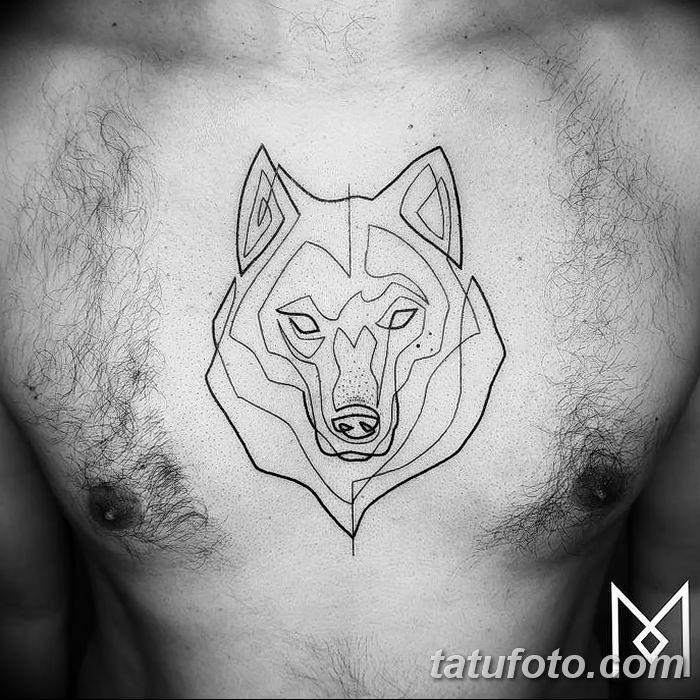 Фото тату линии от 17.09.2018 №019 - line tattoos - tatufoto.com