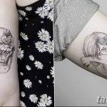 Фото тату линии от 17.09.2018 №023 - line tattoos - tatufoto.com
