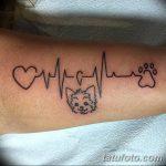 Фото тату линии от 17.09.2018 №032 - line tattoos - tatufoto.com