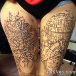 Фото тату линии от 17.09.2018 №035 - line tattoos - tatufoto.com
