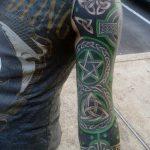 Фото тату линии от 17.09.2018 №040 - line tattoos - tatufoto.com
