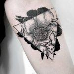 Фото тату линии от 17.09.2018 №053 - line tattoos - tatufoto.com