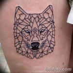 Фото тату линии от 17.09.2018 №074 - line tattoos - tatufoto.com