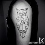 Фото тату линии от 17.09.2018 №075 - line tattoos - tatufoto.com