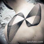 Фото тату линии от 17.09.2018 №094 - line tattoos - tatufoto.com