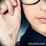 Фото тату линии от 17.09.2018 №154 - line tattoos - tatufoto.com