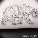 Фото тату линии от 17.09.2018 №159 - line tattoos - tatufoto.com