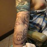 Фото тату линии от 17.09.2018 №173 - line tattoos - tatufoto.com