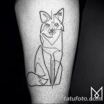 Фото тату линии от 17.09.2018 №189 - line tattoos - tatufoto.com