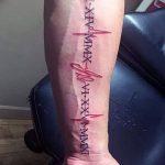 Фото тату линии от 17.09.2018 №194 - line tattoos - tatufoto.com