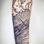 Фото тату линии от 17.09.2018 №205 - line tattoos - tatufoto.com
