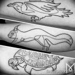 Фото тату линии от 17.09.2018 №214 - line tattoos - tatufoto.com