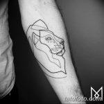 Фото тату линии от 17.09.2018 №216 - line tattoos - tatufoto.com