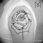 Фото тату линии от 17.09.2018 №237 - line tattoos - tatufoto.com