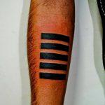 Фото тату линии от 17.09.2018 №247 - line tattoos - tatufoto.com