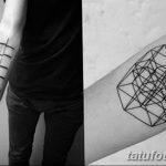 Фото тату линии от 17.09.2018 №267 - line tattoos - tatufoto.com