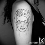 Фото тату линии от 17.09.2018 №299 - line tattoos - tatufoto.com