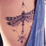 Фото тату линии от 17.09.2018 №307 - line tattoos - tatufoto.com