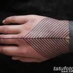 Фото тату линии от 17.09.2018 №310 - line tattoos - tatufoto.com