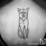 Фото тату линии от 17.09.2018 №321 - line tattoos - tatufoto.com