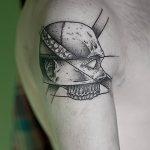 Фото тату линии от 17.09.2018 №334 - line tattoos - tatufoto.com