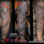 Фото тату полинезия от 24.09.2018 №001 - Polynesia tattoo - tatufoto.com
