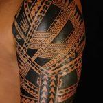 Фото тату полинезия от 24.09.2018 №004 - Polynesia tattoo - tatufoto.com