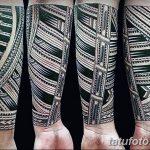 Фото тату полинезия от 24.09.2018 №008 - Polynesia tattoo - tatufoto.com