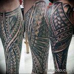 Фото тату полинезия от 24.09.2018 №012 - Polynesia tattoo - tatufoto.com