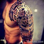Фото тату полинезия от 24.09.2018 №015 - Polynesia tattoo - tatufoto.com