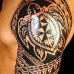 Фото тату полинезия от 24.09.2018 №016 - Polynesia tattoo - tatufoto.com