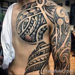 Фото тату полинезия от 24.09.2018 №017 - Polynesia tattoo - tatufoto.com