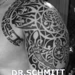 Фото тату полинезия от 24.09.2018 №026 - Polynesia tattoo - tatufoto.com